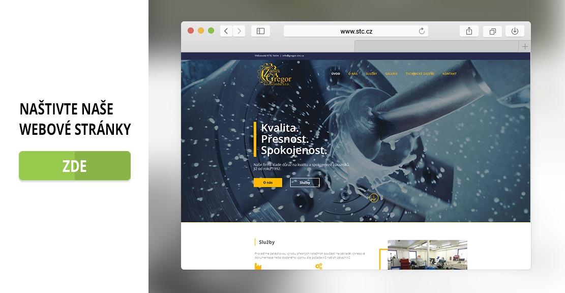 Tvářené webové stránky